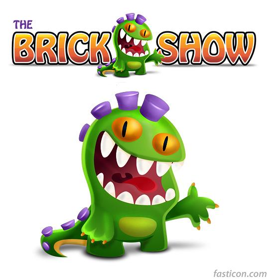 Criacao de Personagem Brickshow