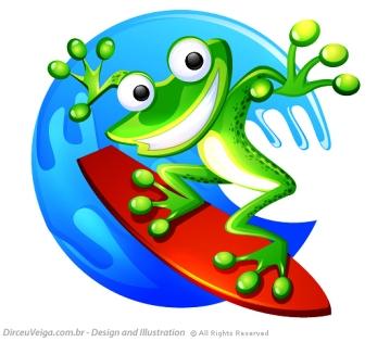 Criação de Personagem - Frog Surf