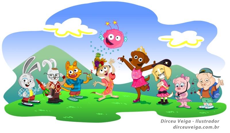 Criação de Personagens para livro infantil