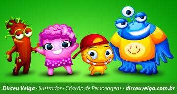 Criação de Personagem - BookLovers Kids
