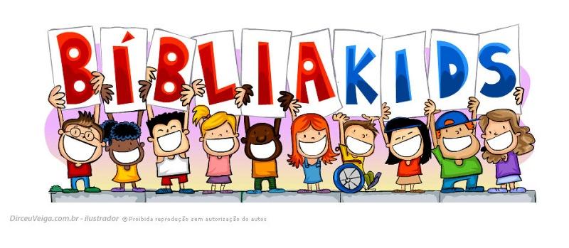 Ilustração Infantil Bibliakids