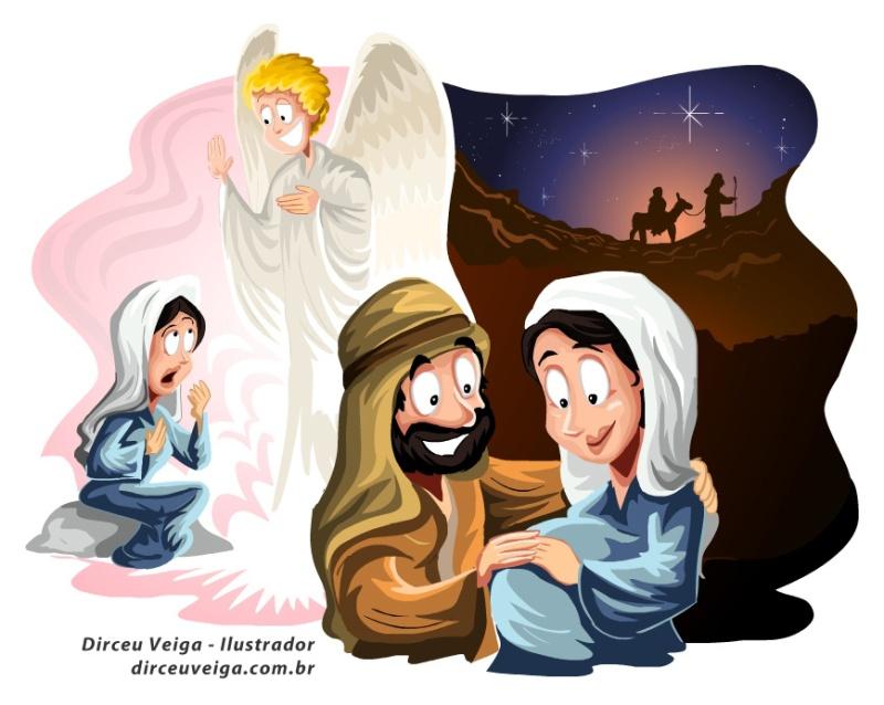 Ilustração Infantil Bíblica