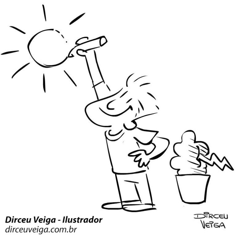 Cartum : Sol - Mudando de Humor